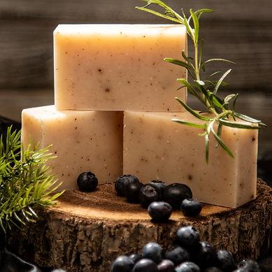 blueberry natural soap bar