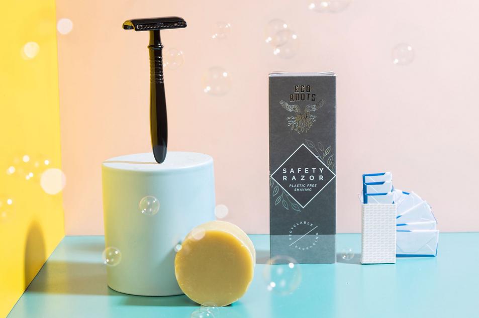 razor bubbles refillable blades and soap