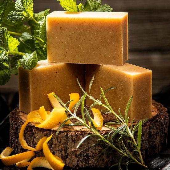 orange peel mint soap ingredients
