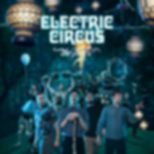 electric circus album cover art indianapolis advertising photography