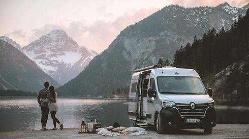 ahorn Van550 Urlaub am See Abendämmerung