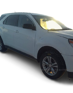 2013 Chevy Equinox LS-White