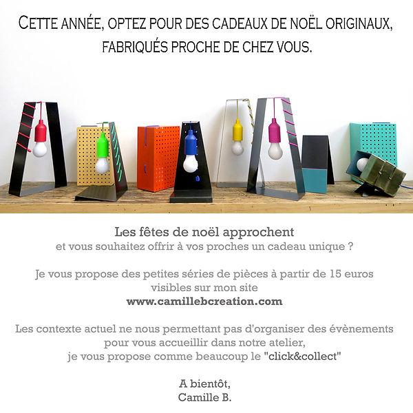 Baladeuses, cadeaux de noël, Click and c