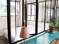 Verrière atelier avec fenêtres double