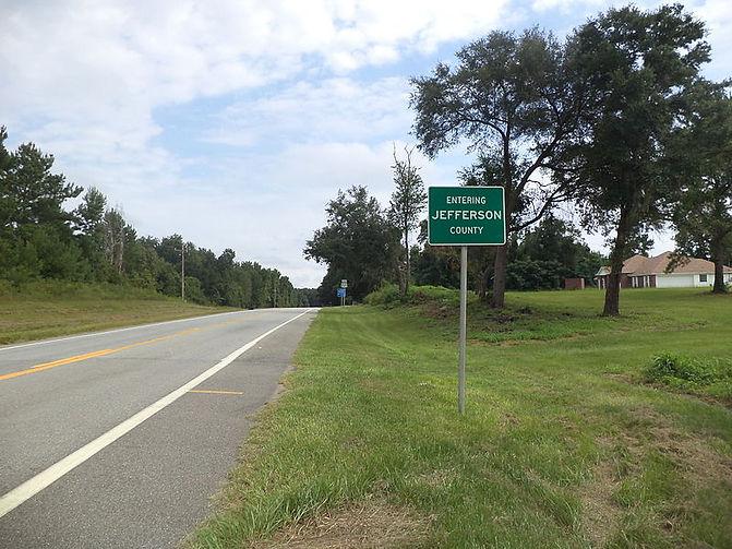 Entering_Jefferson_County,_US221NB,_Flor