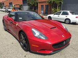Client's Ferrari