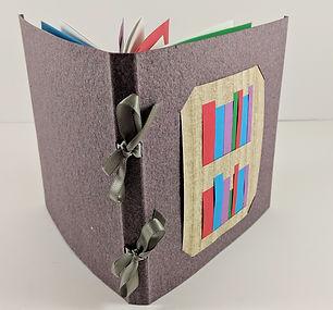 Handmade Book Woven Codex