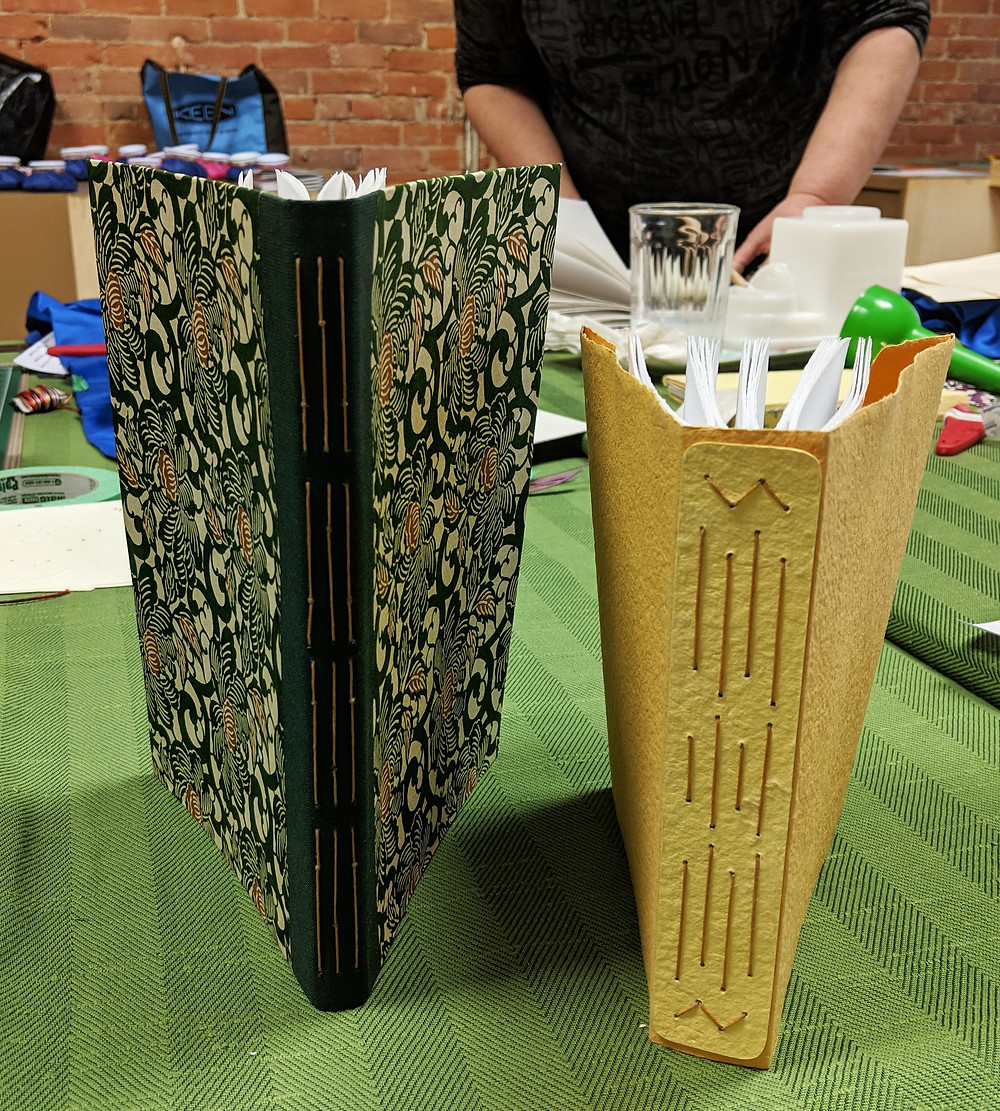 Student's Books - Long Stitch Spines