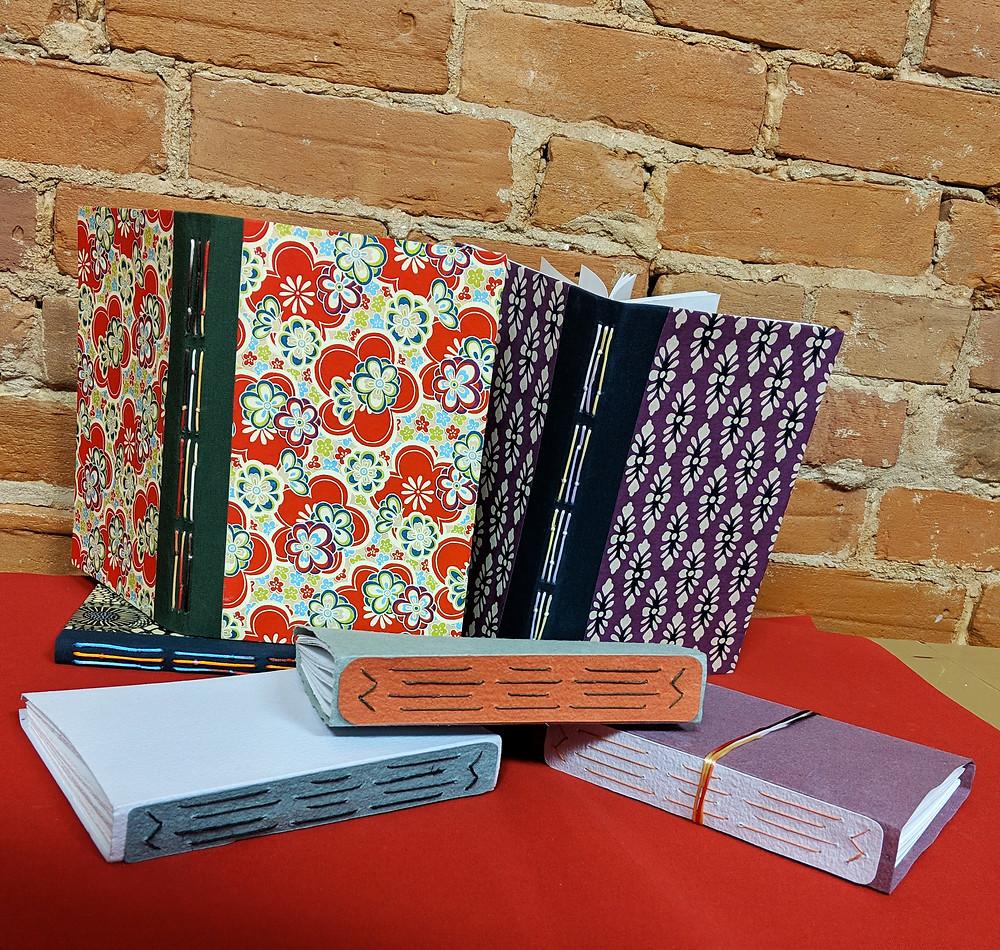Group Photo of Long Stitch Books
