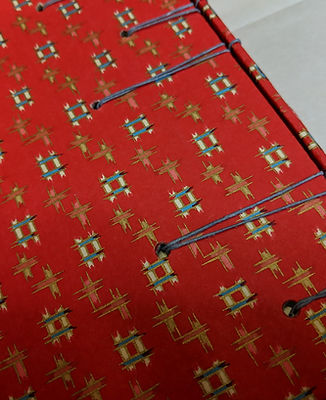 Criss Cross Handmade Bookbinding