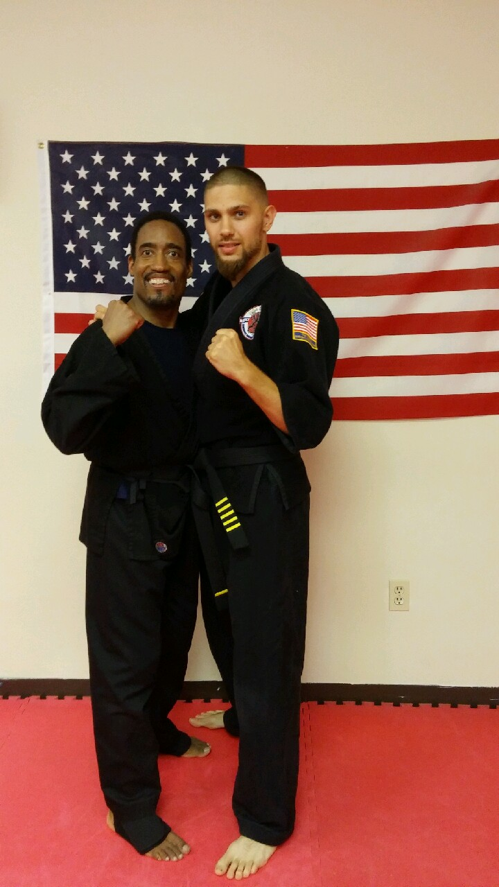 Shodan Lance and Shihan Tom