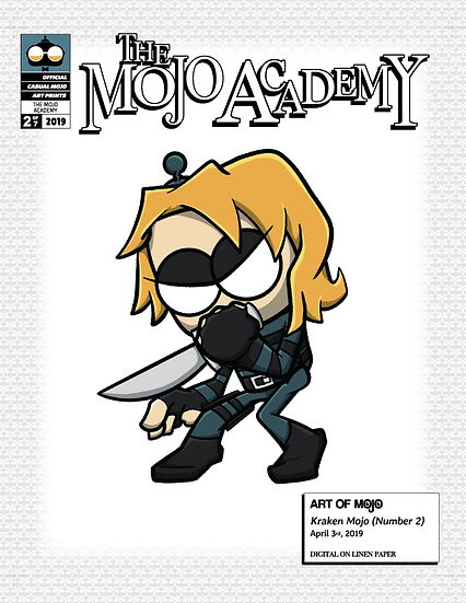 Kraken Mojo (#2) Print