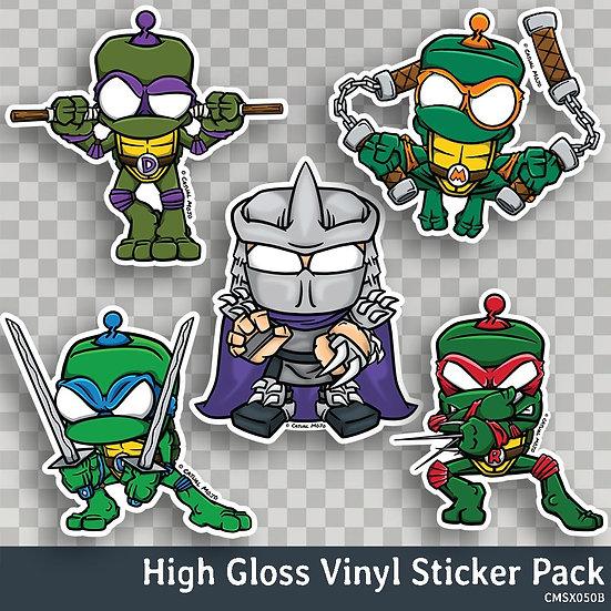 Ninja Dude Mojos Sticker Pack