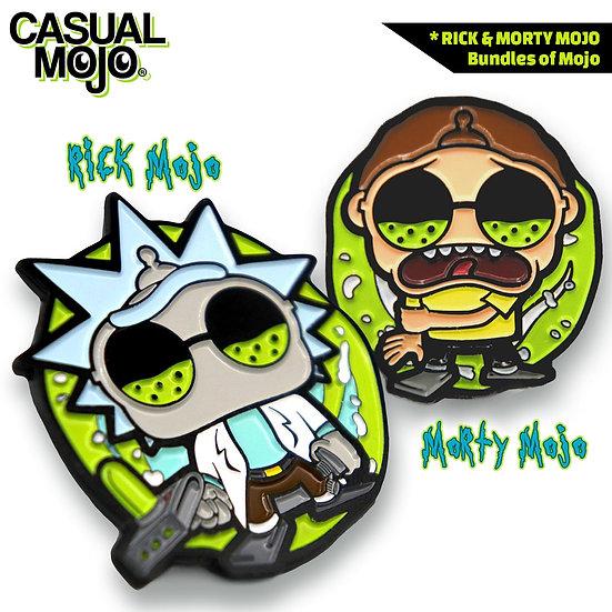 Rick & Morty Mojo Pin Set