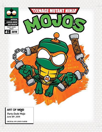 Party Dude Mojo Print