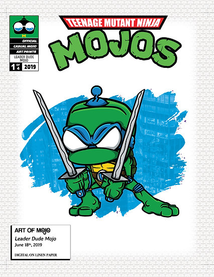 Leader Dude Mojo Print