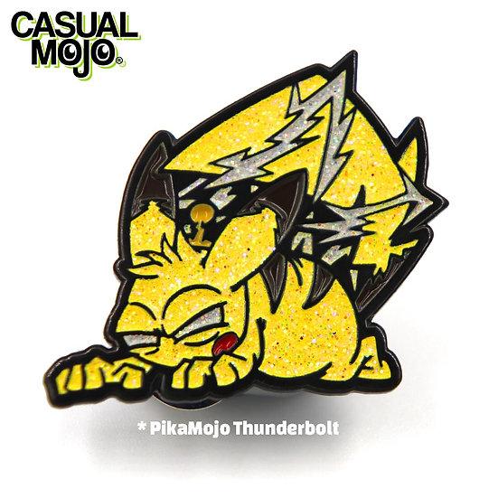 PikaMojo Pin Thunderbolt