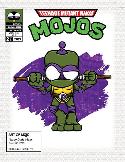 Nerdy Dude Mojo Art Print