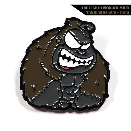 The Eighth Wonder Mojo Enamel Pin - The King