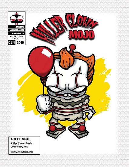 Killer Clown Mojo Print