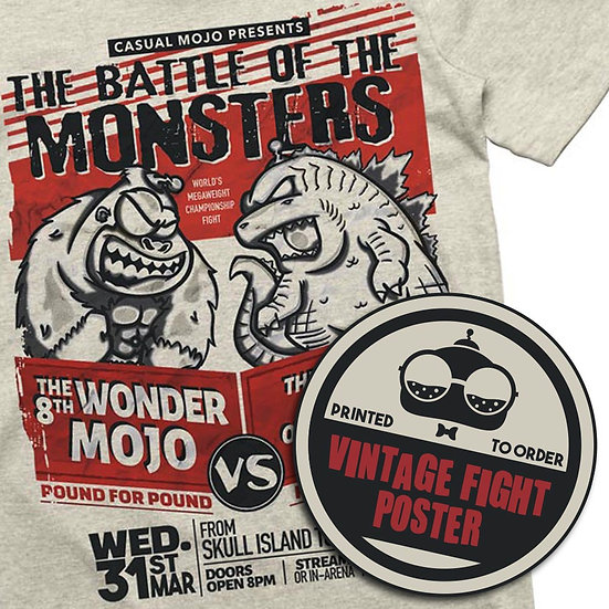 The Battle of the Monsters T-Shirt