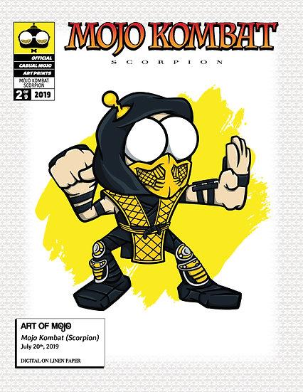 Mojo Kombat Print (Scorpion)