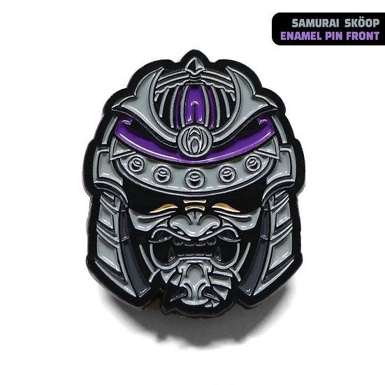 Samurai Sköop Enamel Pin