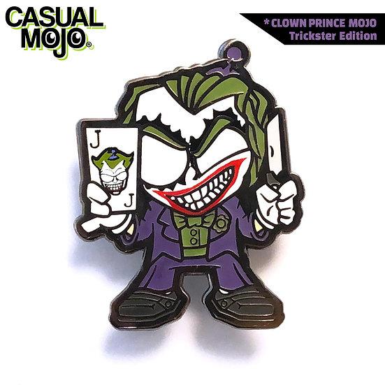 Clown Prince Mojo Pin Trickster