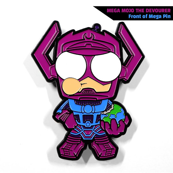 Mega Mojo the Devourer Enamel Pin