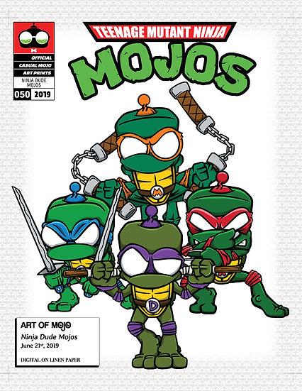 Teenage Mutant Ninja Mojos Print