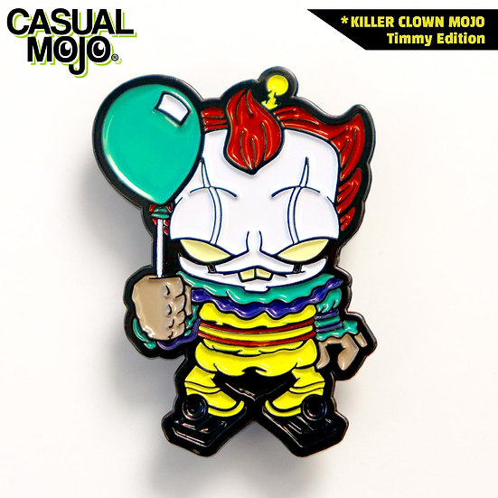 Killer Clown Mojo Pin Timmy