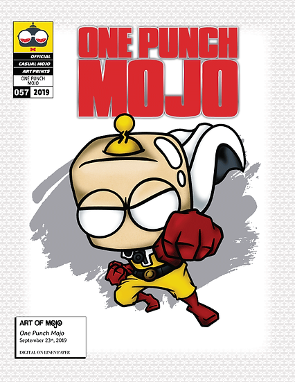 One Punch Mojo Print