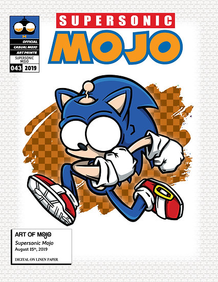Supersonic Mojo Print