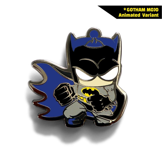 Gotham Mojo Pin Animated