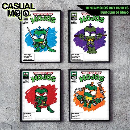 Ninja Mojos Print Set