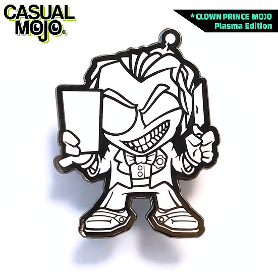 Clown Prince Mojo Pin Plasma
