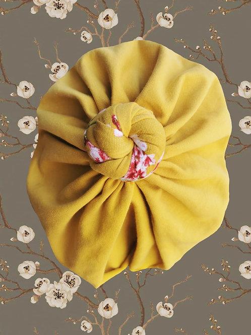 Golden Honey (coton jersey gratté bio)