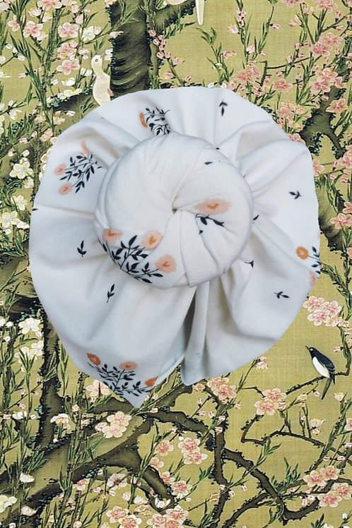 Cream Meadows (coton-bio)