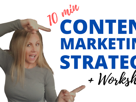 The Ultimate Content Marketing Strategy + Worksheet