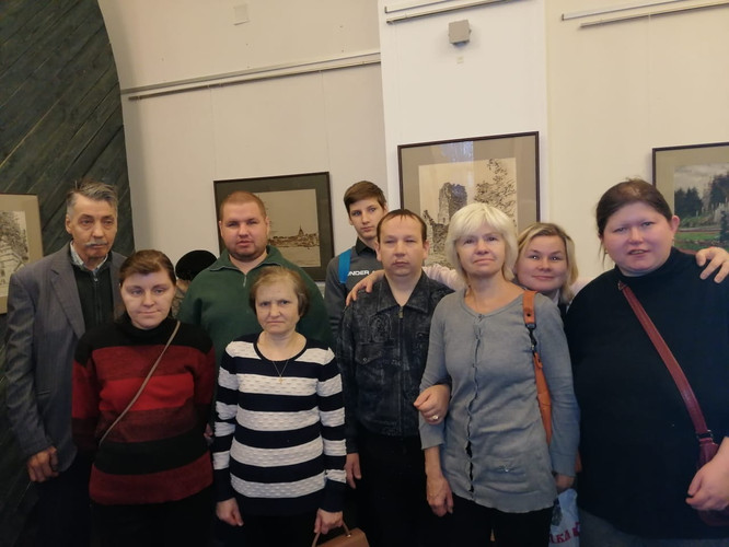 Подопечные Центра социальной реабилитаци