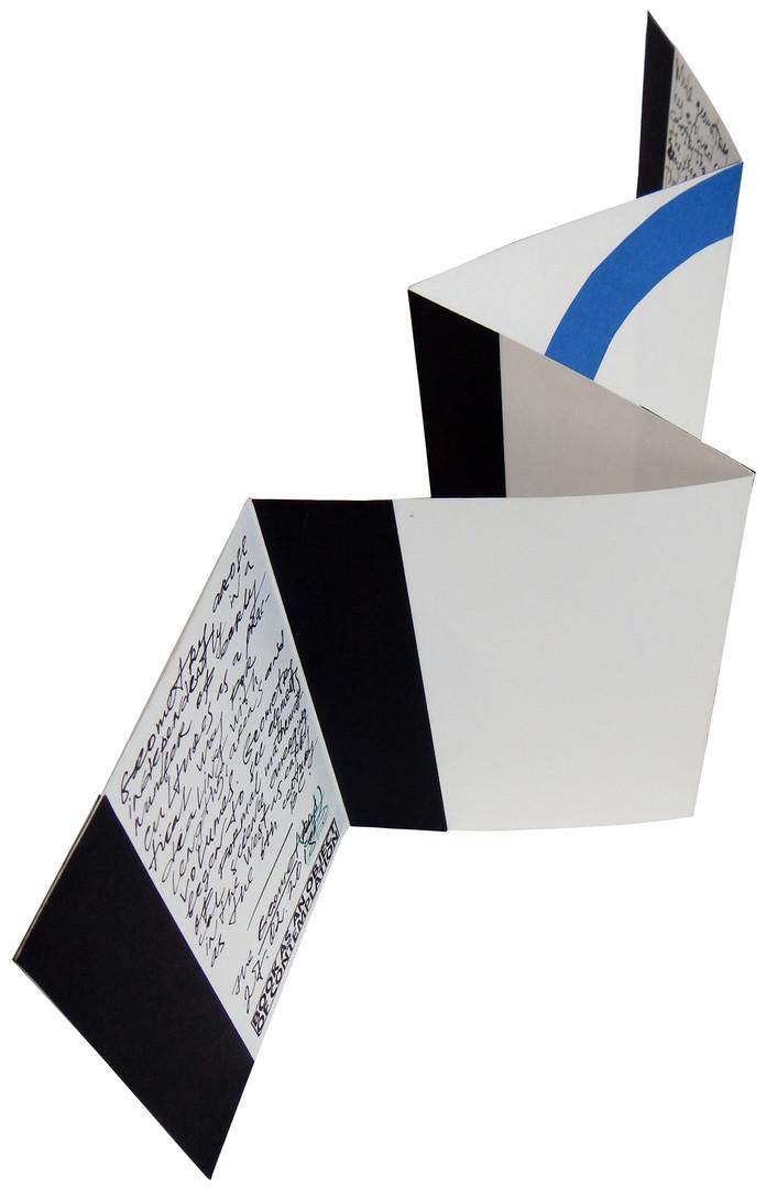 2018 Geometry-Геометрия, 20х75 см, б, см-техника