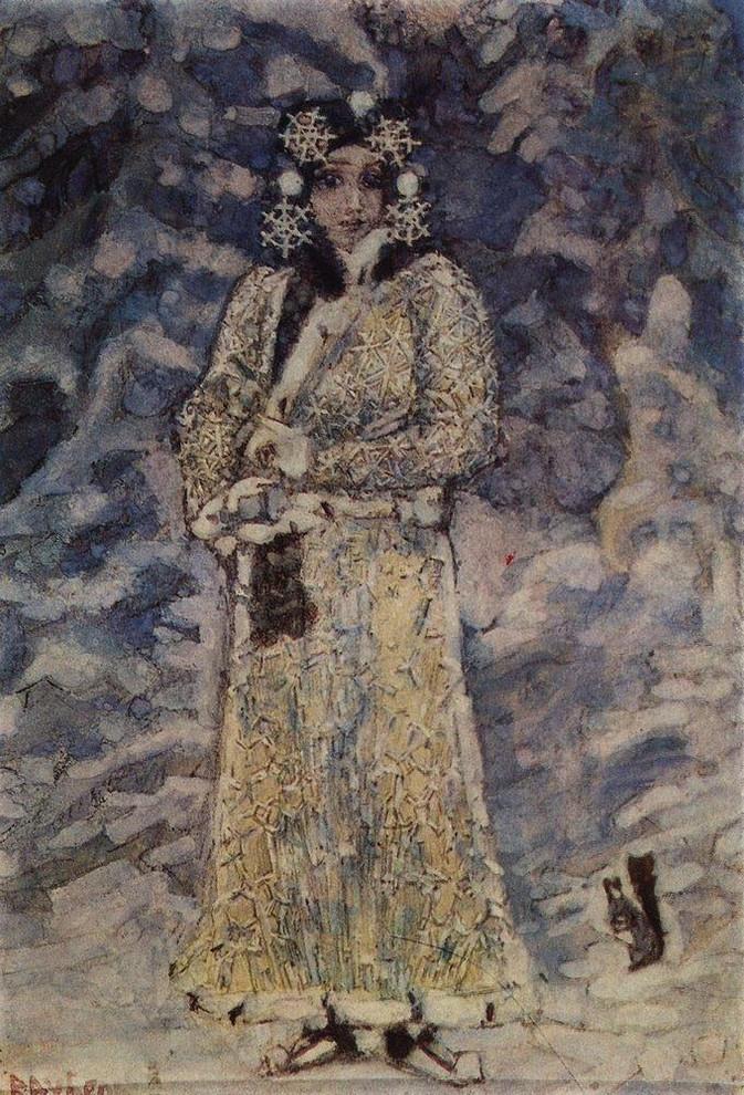 Снегурочка М.Врубеля