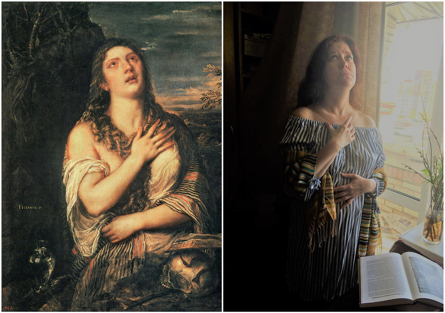 Тициан. Кающаяся Мария Магдалина