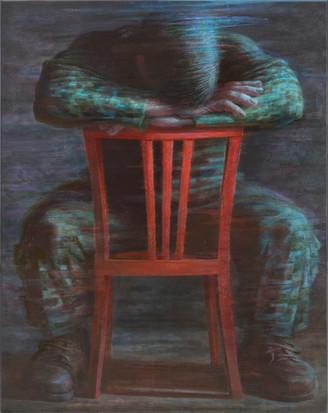 Короткий отдых солдата. 140х110, 2010г. Вадим Григорьев-Башун