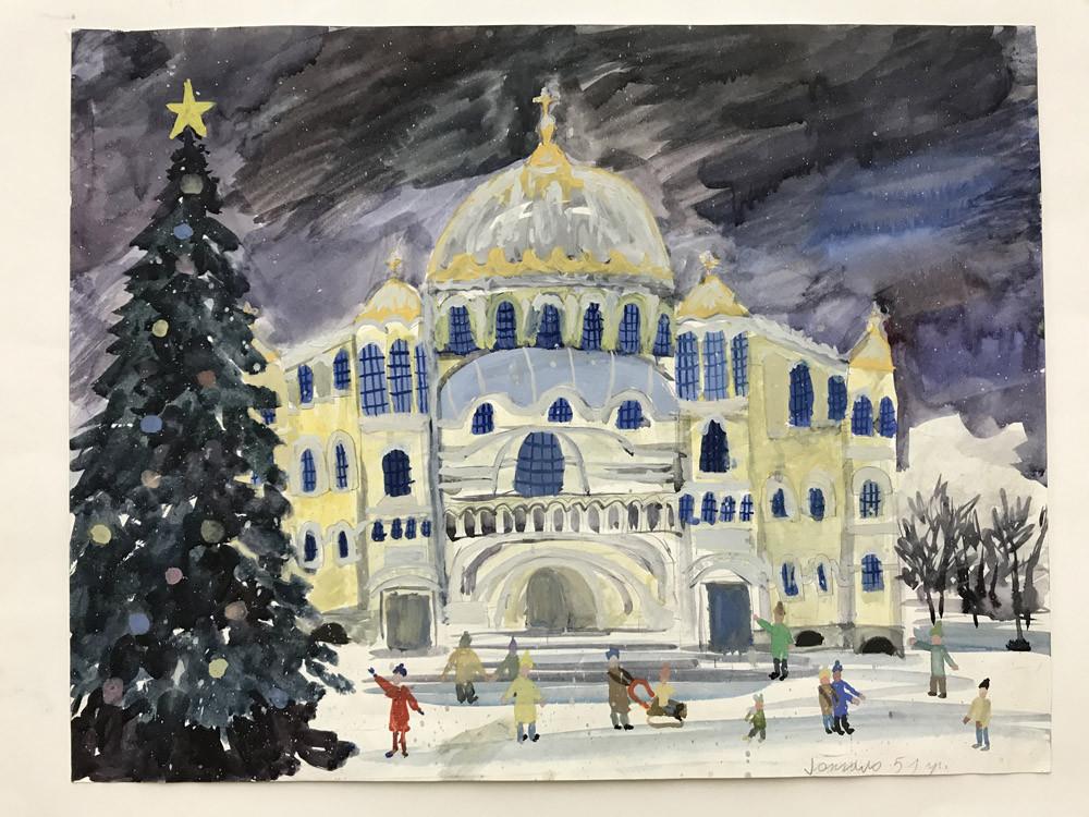 Гонгало Анастасия 13 лет Морской собор. Рождество