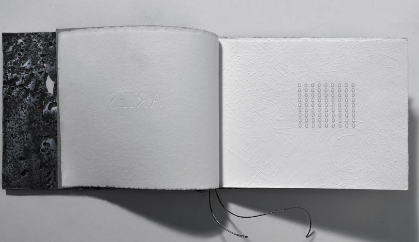 """Книжный объект """"ARIES"""". 2004г. Музей книга художника. Музей современного искусства Эрарта. 2011г. Санкт-Петербург"""