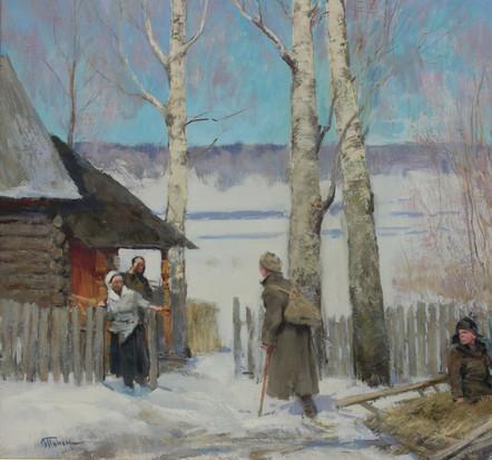 МАРТ 45 года. х.,м. 70х70. 2011 г. О.Г. Пономаренко