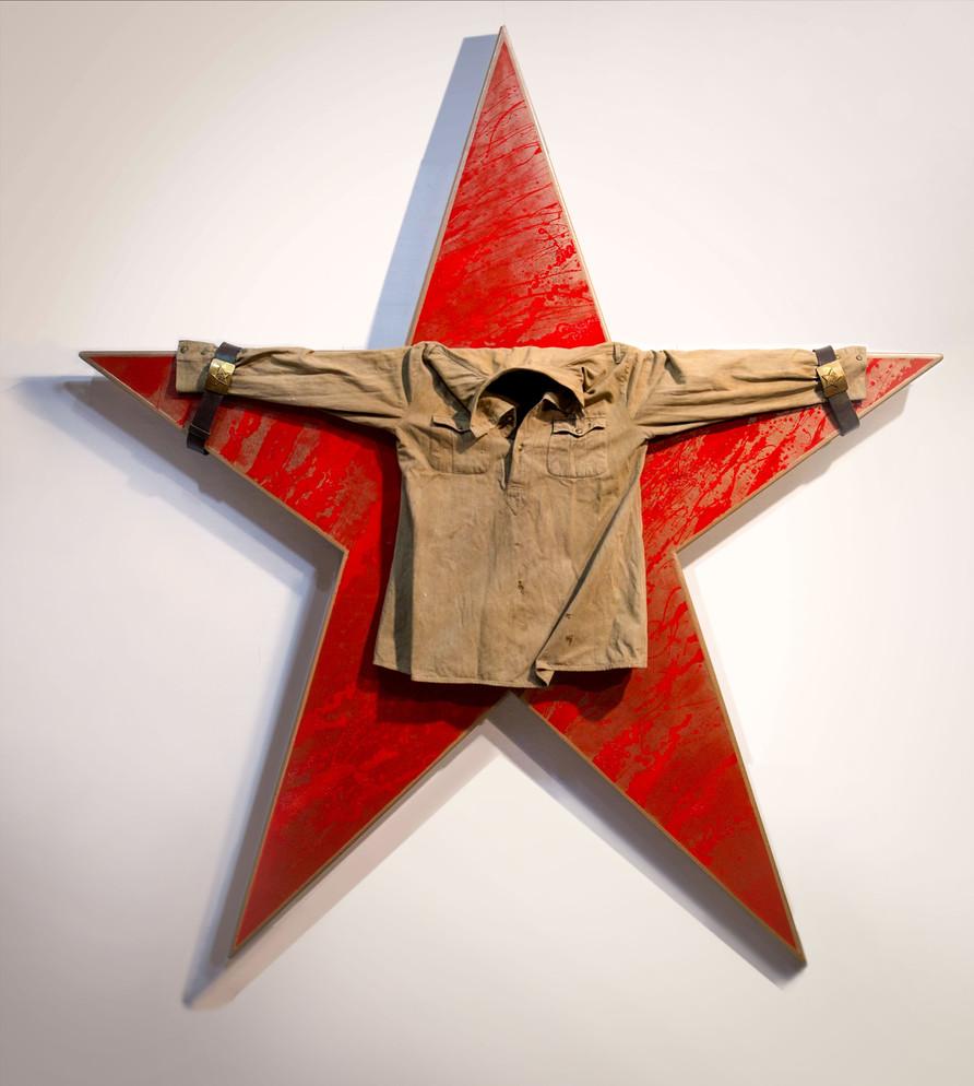 Жертва 1941-1945. д.п. 200х170х12, 2019г. Вадим Григорьев-Башун