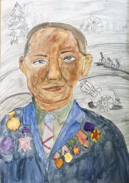 Анастасия Шилова 9 лет, Мой героический дед. Преподаватель Кувайкина С.М.