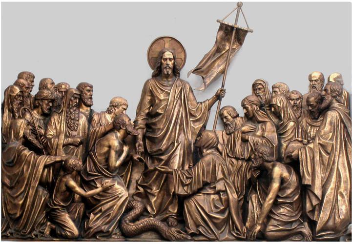 №30 Лепка 8  Сошествие Христа во ад.jpg
